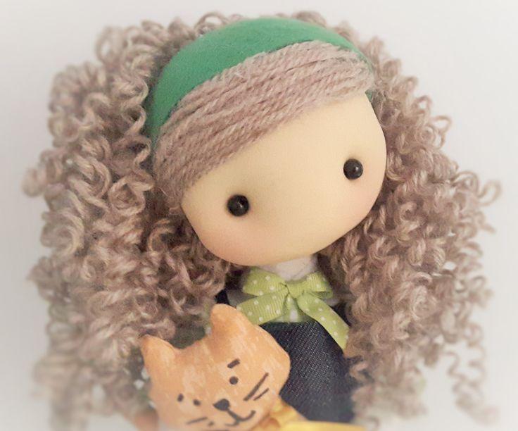 Tutorial 26: Bambola Luna e il suo gattino Pepo parte 1