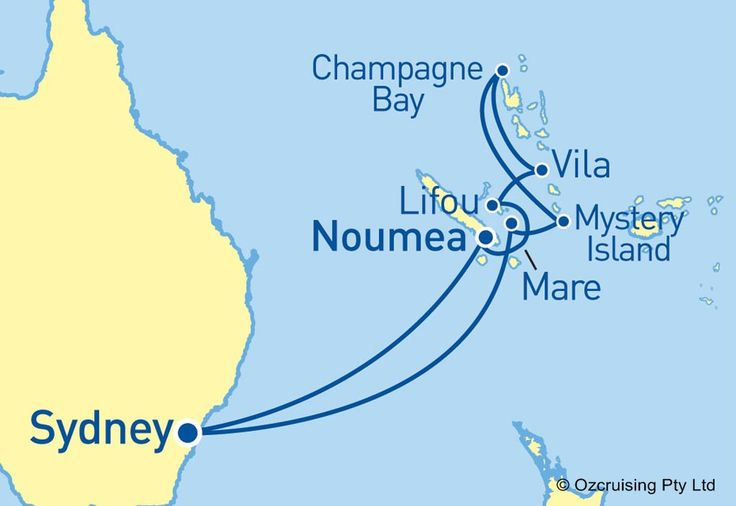 Radiance Of The Seas South Pacific Cruise - Ozcruising