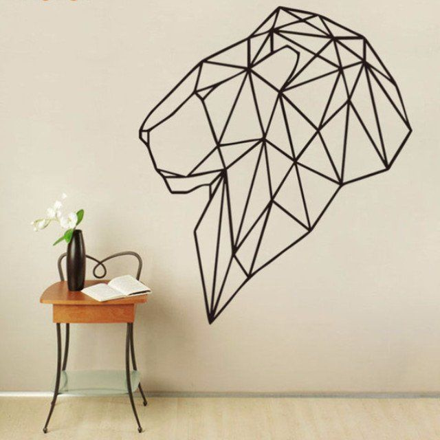 Lion StickIt Geometric
