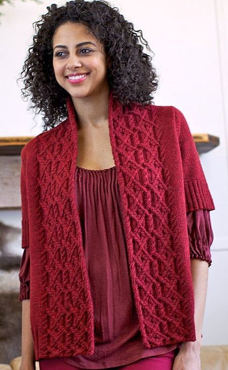 Knitting Pattern Marker : Reciprocal jacket Knitting patterns Pinterest ...