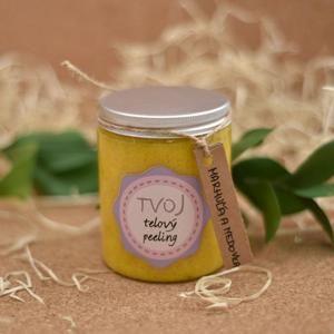 Meruňkovo-meduňkový tělový peeling 100 ml Tvoja kozmetika