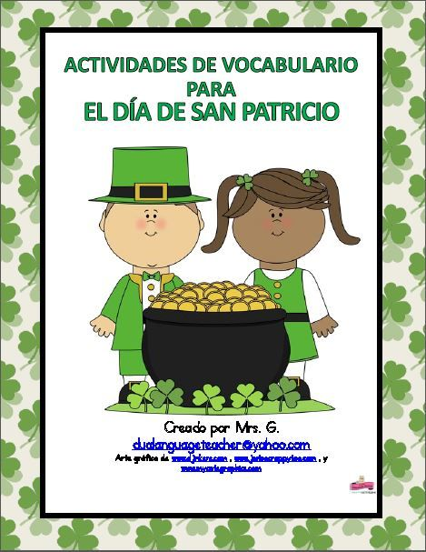 St. Patrick's Day- Spanish