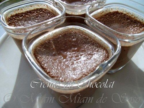 Une version plus light des crèmes au chocolat façon grand mère INGREDIENTS POUR…
