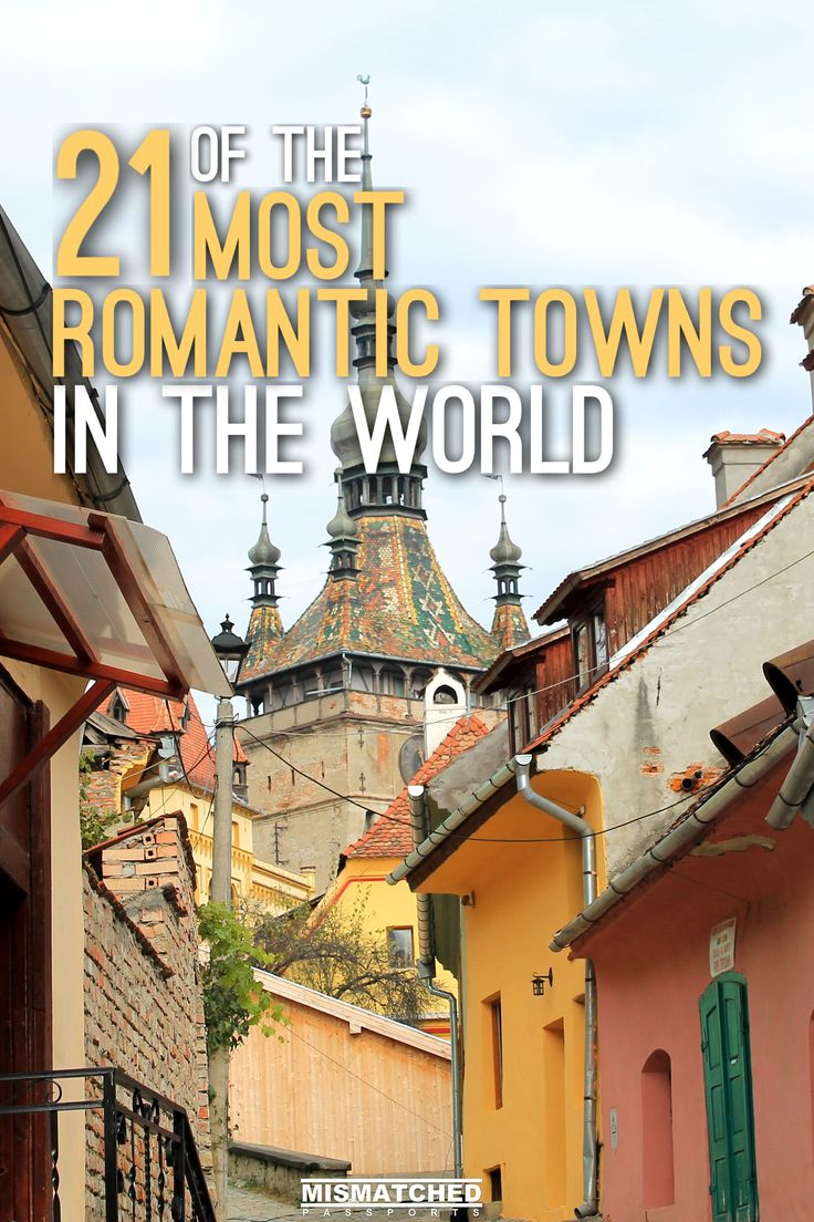 21 of the Most Romantic Towns in the World | Are you looking for bucket list-worthy places to visit with your partner? Check out our list of 21 of the Most Romantic Towns in the World which includes Positano (Italy), Bled (Slovenia), Antigua (Guatemela), Fira (Greece) and other awesome towns to travel to in Europe, Asia, Africa, New Zealand, North America and South America.