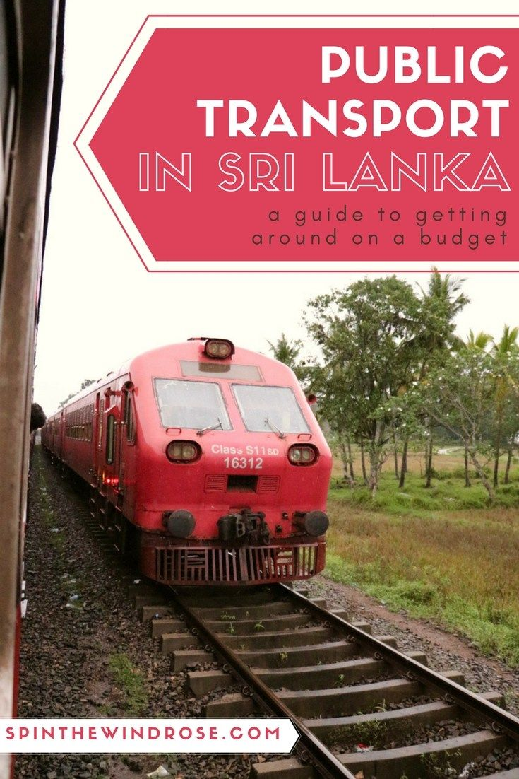 Public transport in Sri Lanka opens your travels to a range of new experiences all whilst saving you money as you travel - and it's very easy to use!   Public transport in Sri Lanka guide | Budget travel | SL | Asia | Getting around | Traveling | spinthewindrose.com