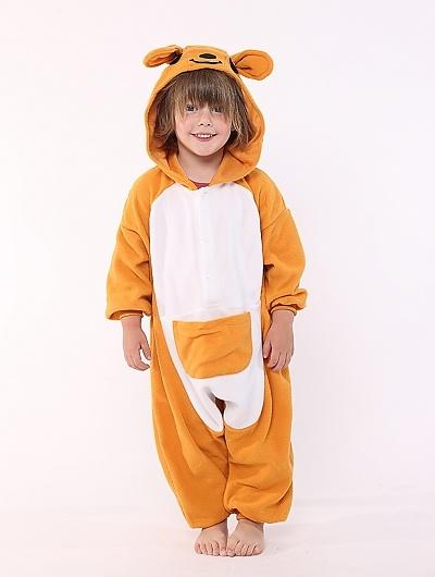 Kangaroo Kids Animal Onesie Costume