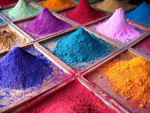 pigmentos indios