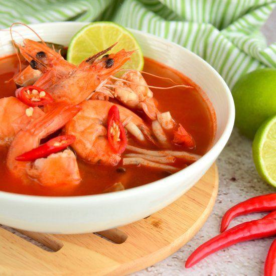 Tom yum soup, Thailand cuisine