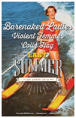 Barenaked Ladies announce summer tour with Violent Femmes and Colin Hay - http://www.beachcarolina.com/2015/02/10/barenaked-ladies-announce-summer-tour-with-violent-femmes-and-colin-hay/ BARENAKED LADIES 2015 LAST SUMMER ON EARTH TOUR with special guests Violent Femmes and Colin Hay  Saturday, July 4 – Red Hat Amphitheater Raleigh July 8 – Uptown Amphitheatre Charlotte   COLUMBIA, SC Feb. 10, 2015 – BARENAKED LADIES will be heading back out on the road this su