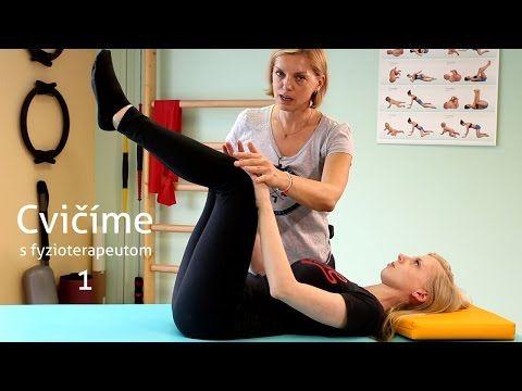 Cvičíme s fyzioterapeutom #1 - YouTube
