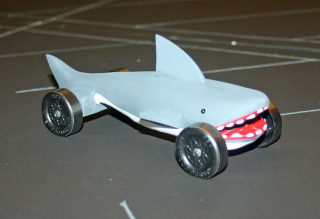 Pin by mendy lindsay on for garrett pinterest for Pinewood derby shark template