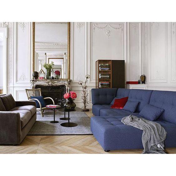 Image result for habitat soffa blå utan armstöd
