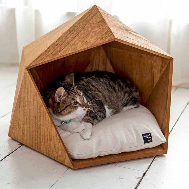 Your dog or cat deserves the finest and most comfortable place to rest, but perhaps you'd also like them to lounge about in a piece of pet furniture that classes up your room. Natural Slow's Kamakura Pet House offers a relaxing place for your furry friend, alongside a simple but elegant design that will look …