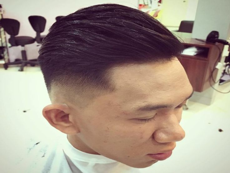 awesome Asian Comb Over