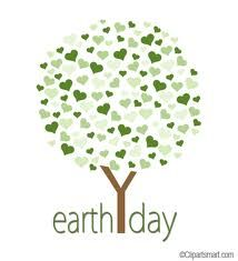 earth day logo can be used for making cards, bulletin board-