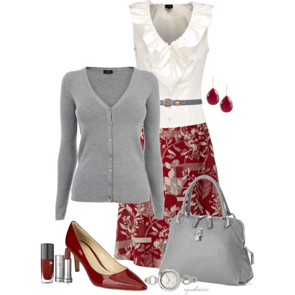 A fashion look from March 2012 featuring Joseph cardigans, Hobbs Invitation blouses and White Stuff mini skirts. Browse and shop related looks.