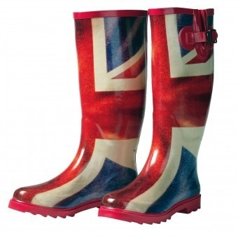 Union Jack Wellies
