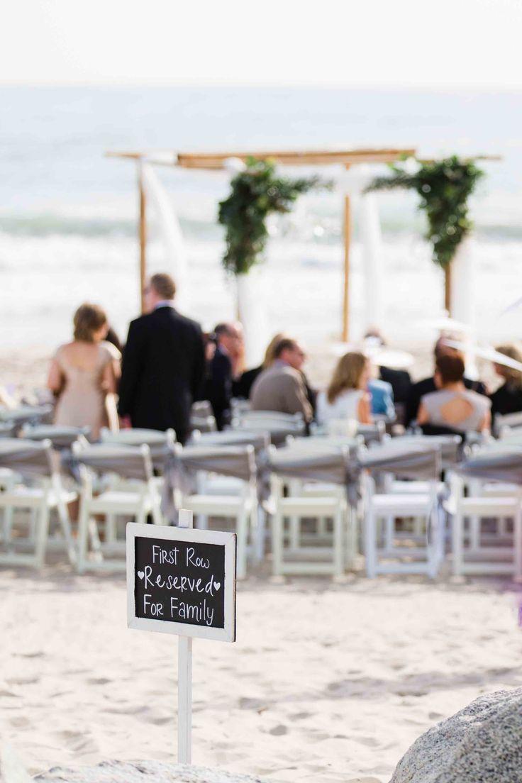 beach weddings in orange county ca%0A Rincon Events Beach Wedding  Photo By Brandon and Erica Photography   beachwedding  santabarbarawedding