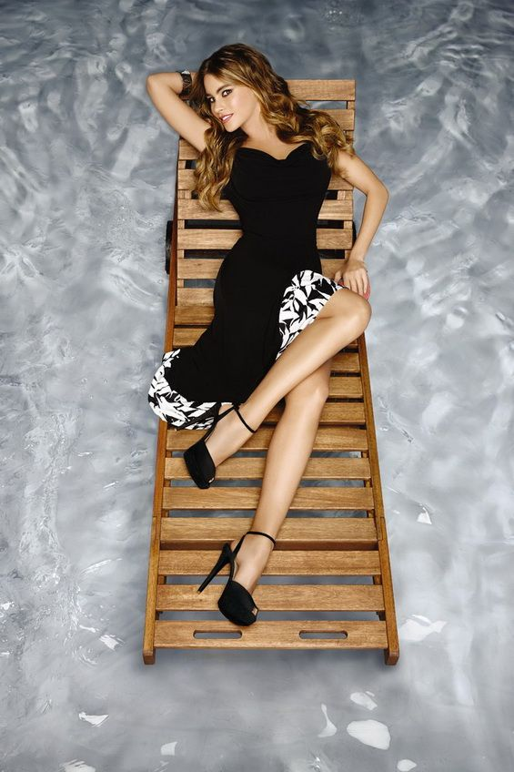 Sofia Vergara in her own colection