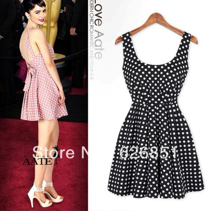 Free Shipping 2014 New fashion Girl's Preppy Style Mini Pleated Suspender Dress Black White Pink Color Polka Dot Braces Dresses $15.47