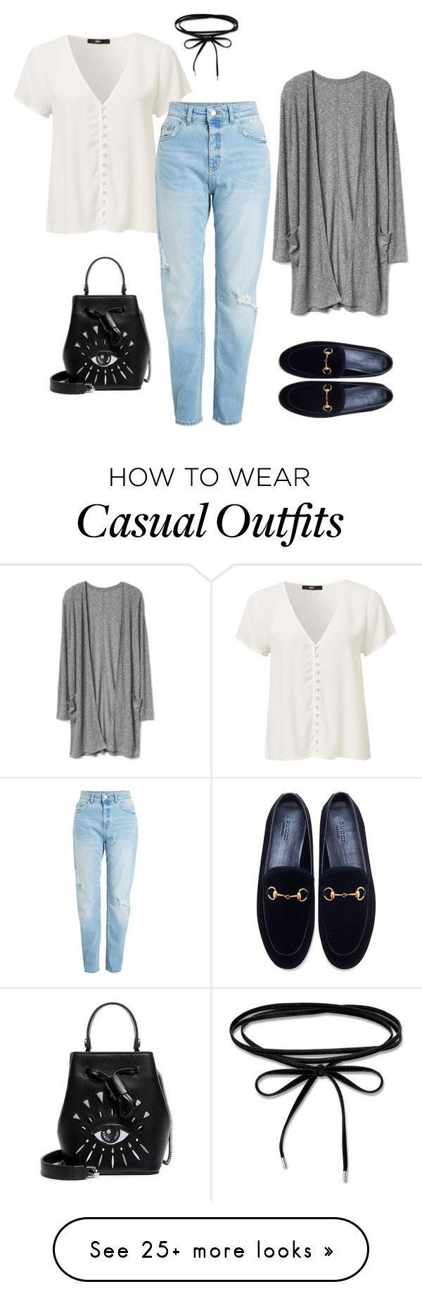 """""""casual"""" by kennzi on Polyvore featuring Gucci and Kenzo"""
