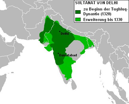 Sultanat von Delhi Tughluq-Dynastie - Delhi Sultanate - Wikipedia