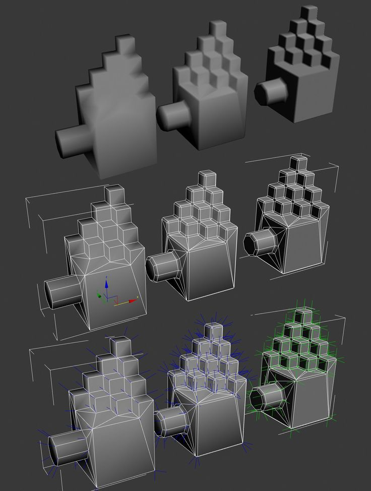 A short explanation about custom vertex normals (tutorial) - Polycount Forum