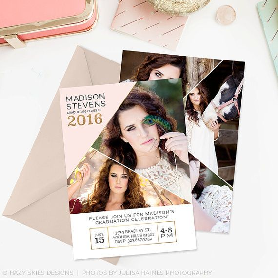 81 best Senior Announcements images on Pinterest Senior - graduation announcement template