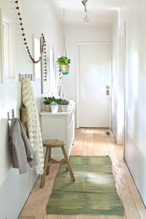 entry bright white with funny details