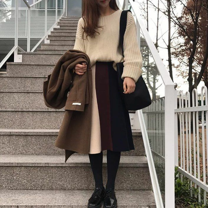 "1,293 Likes, 1 Comments - Korean Fashion (@koreanfashion.ootd) on Instagram: ""perfect winter clothing~ • • • • #koreanfashion • by @_so.ra"""