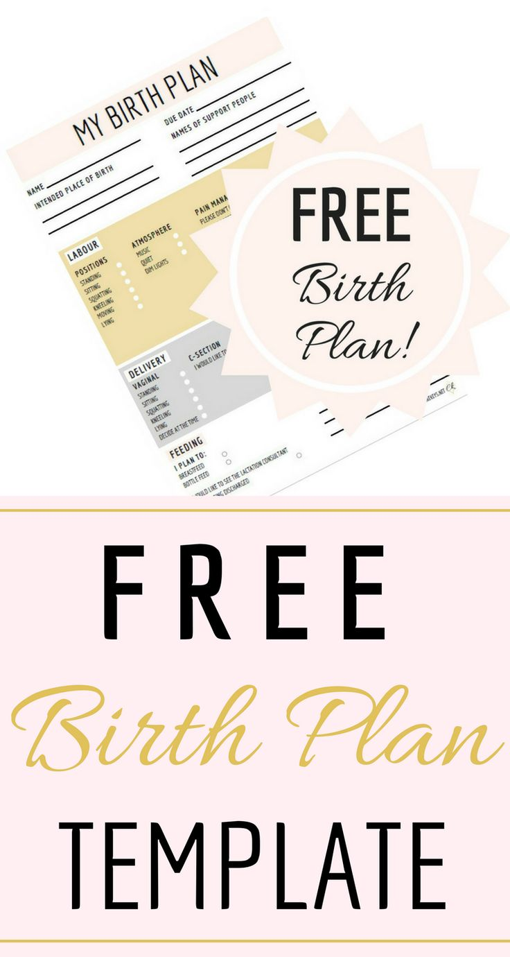 The 25 best birth plan printable ideas on pinterest for Simple birth plan template