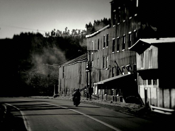 #GHC: calles de carahue Molino de Carahue (ex-Valck)  Junio 18 de 2014.- #reverside #carahue #molino #cityscape