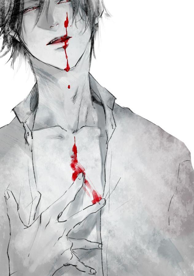 Кровавые картинки с мужчинами