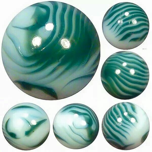 Green Marble Ball : Best images about antique vintage marbles on