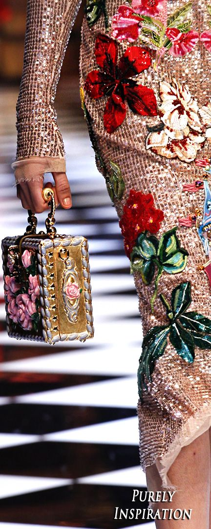 Dolce & Gabbana FW2016 (details) Women's Fashion RTW   Purely Inspiration