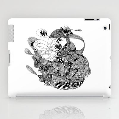 kimi - the rat iPad Case by lf.o