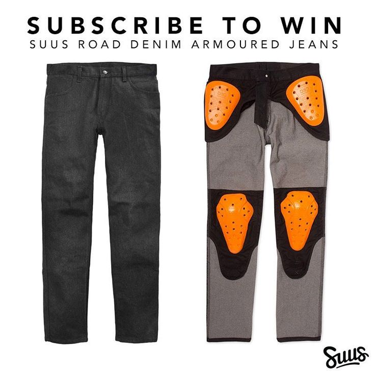 Another month another giveaway! If you'd like to win a pair of @suuscustoms 3066 Road Denim armoured jeans valued at $315 USD sign up to our newsletter using the link in our profile.  #motorcycle #ridinggear #jeans #safety #armor