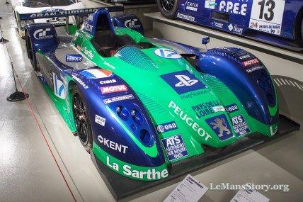 Courage pescarolo c60 peugeot 2003 Ultimate Racing History Le Mans Car Museum