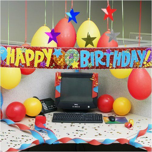 13 best images about cubicle birthday decorating ideas on for Fun office decorating ideas
