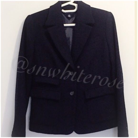 Tommy Hilfiger Navy Wool-Blend Coat Tommy Hilfiger Navy Wool-Blend Coat. New without tag. Selling for a friend. No trades please. Please make all inquires and requests for additional photos prior to purchase. Tommy Hilfiger Jackets & Coats
