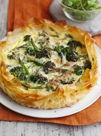 Ham & Leek Quiche | Pork Recipes | Jamie Oliver
