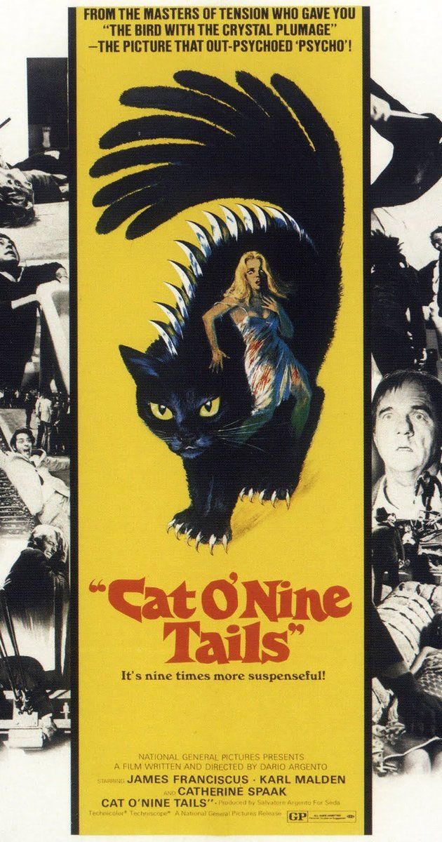 Directed by Dario Argento.  With James Franciscus, Karl Malden, Catherine Spaak, Pier Paolo Capponi. A newspaper reporter and a retired, blind…