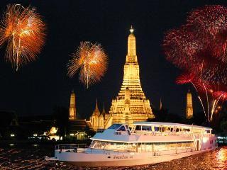 【태국】방콕★차오프라야 프린세스 디너 크루즈★탑승권+디너 뷔페포함