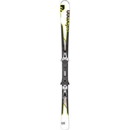 Salomon Enduro XT 800 Skis with Z12 B80 Bindings 2013 by Salomon. $799.99. The Salomon Enduro XT 800 is a great ski for the advance or lighter weight expert skier who wants a lot of technology underneath their feet. The All Terrain Rocker is rocker in the tip, with camber underfoot. Tip rocker will help you float in the powder, deflect the negative vibrations from crud, moguls, and help the ski initiate quicker turns on the groomers. A Full Wood Core is reinforce...
