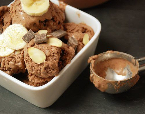Chocolate Almond Butter Ice Cream #MultiplyDelicious