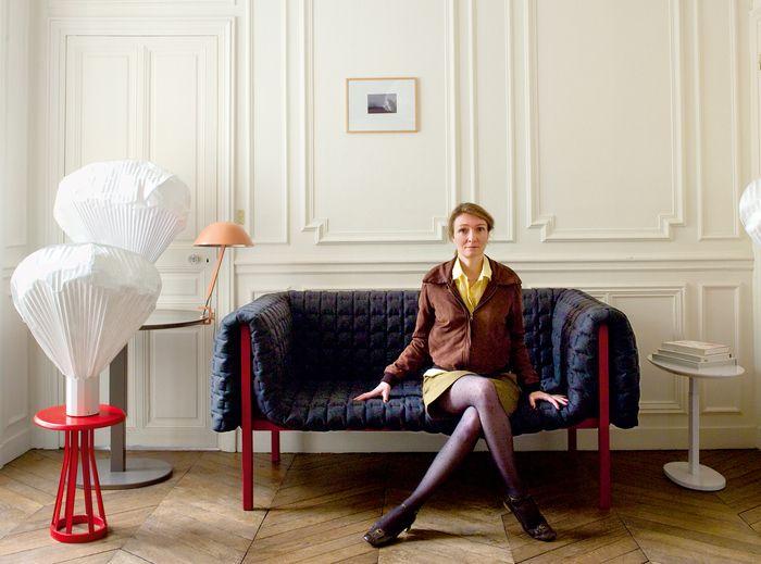 Ruché sofa by Inga Sempe for Ligne Roset