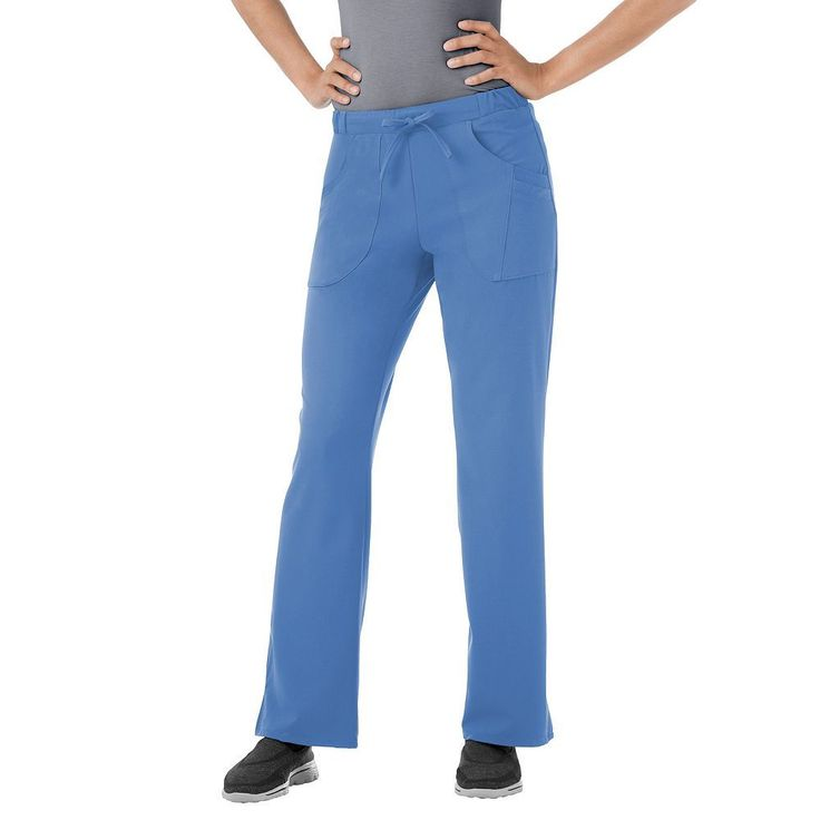 Plus Size Jockey Scrubs Classic Next Generation Comfy Pants, Blue