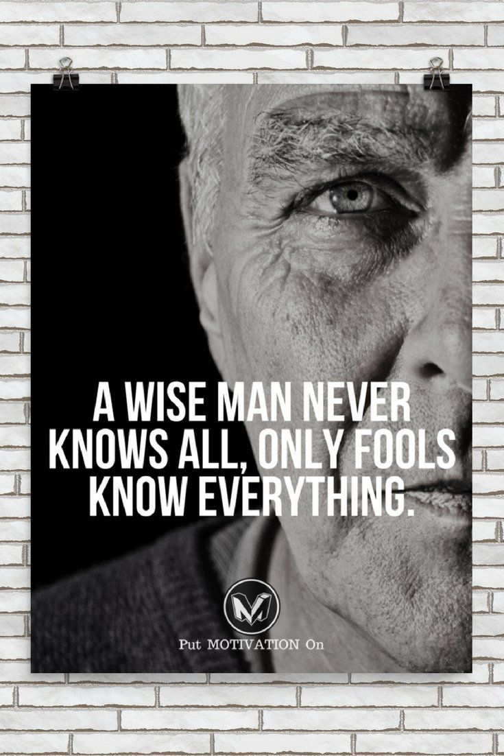 A WISE MAN NEVER KNOWS ALL | Poster – PutMotivationOn Follow all our motivational and inspirational quotes. Follow the link to Get our Motivational and Inspirational Apparel and Home Décor. #quote #quotes #qotd #quoteoftheday #motivation #inspiredaily #inspiration #entrepreneurship #goals #dreams #hustle #grind #successquotes #businessquotes #lifestyle #success #fitness #businessman #businessWoman #Inspirational