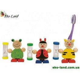 Держатель для зубной щетки с песочными часами, Bino