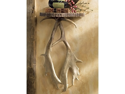 Antler Wall Shelf, so cool and rustic